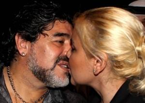 Diego Maradona e Veronica Ojeda