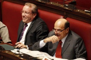 Laratta con Bersani