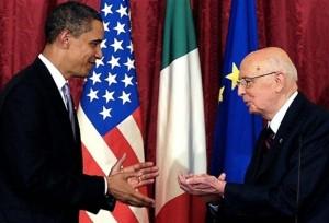 Un recente incontro tra Obama (classe 1961) e Napolitano (classe 1925)