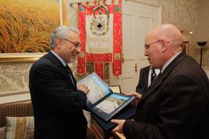 Il Prefetto Cannizzaro ricevuto dal Presidente Mario Oliverio