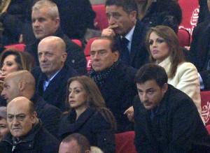 Santanche e Sallusti, Berlusconi con la Pascale