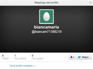 Altro falso follower