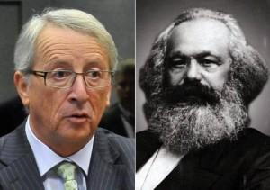 Junker e Marx. Sotto Renato Brunetta
