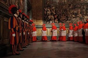 Habemus-Papam-lentrata-nel-Conclave
