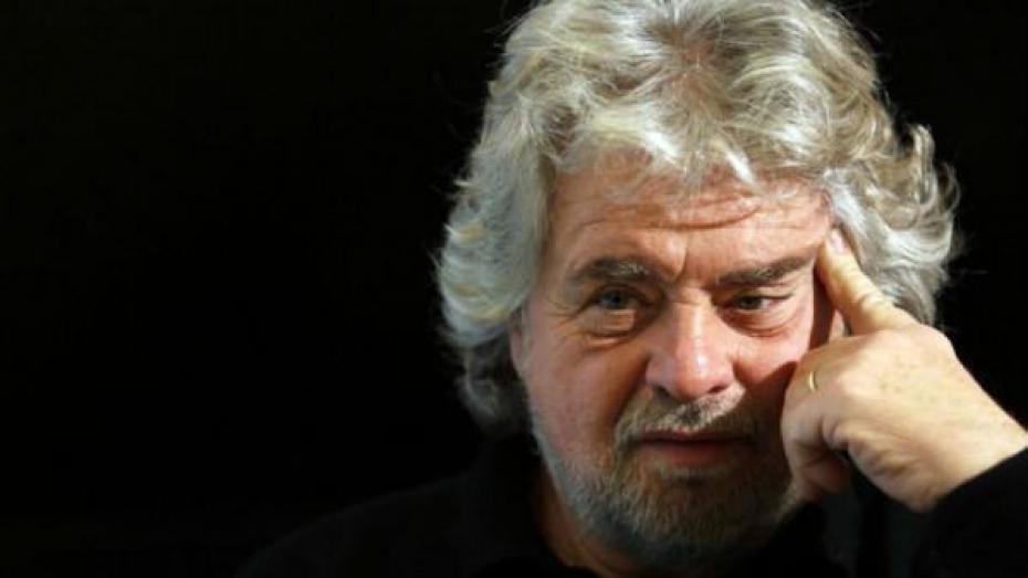 Beppe Grillo leader del Movimento 5 Stelle