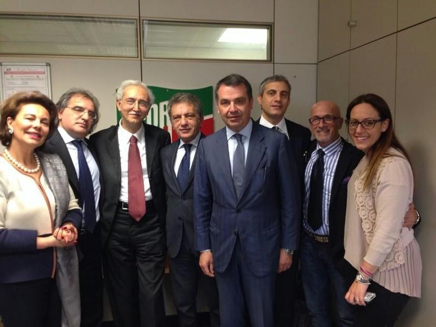 GIOVANNI BALDI ADERISCE A FORZA ITALIA