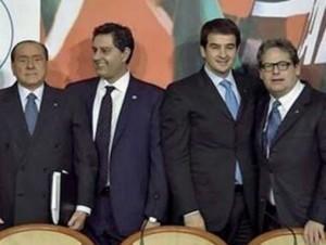 Berlusconi Toti Fitto e Miccichè