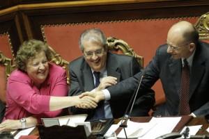 Cancellieri Letta e Saccomanni