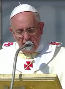 Papa Francesco omelia piana Sibari