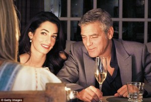 George Clooney (53 anni) e Amal Alamuddin (35)