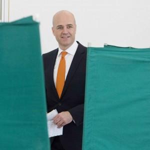 Il premier uscente Fredrik Reinfeldt (lapresse)