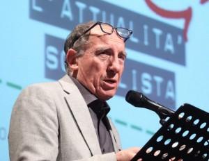 Paolo Pillitteri mentre parla