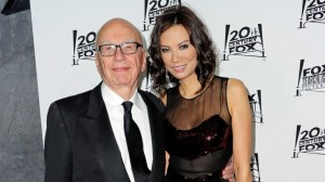 Rupert Murdoch con l'ex moglie Wendy Deng - l'amore non ha età