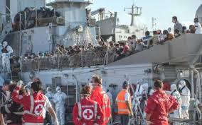 Sbarco di 1600 immigrati a Reggio Calabria