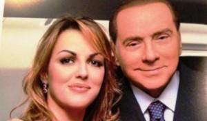 Silvio Berlusconi (78 anni) con la fidanzata Francesca Pascale (30)