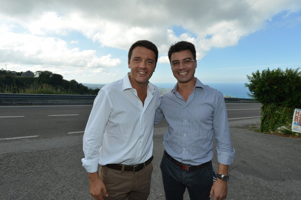 Callipo con Renzi