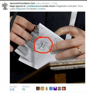 Ecco come Napolitano ha silurato Nicola Gratteri