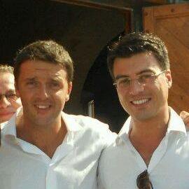 Gianluca Callipo con Matteo Renzi.