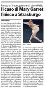 Mary Garret Gazzetta del Sud Pirillo