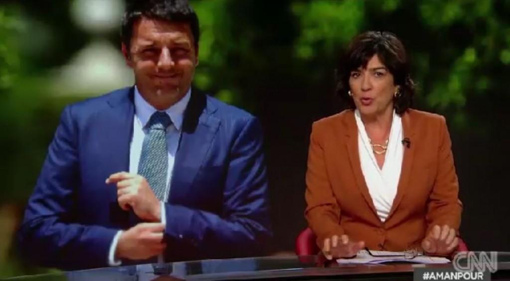 Intervista Renzi alla Cnn