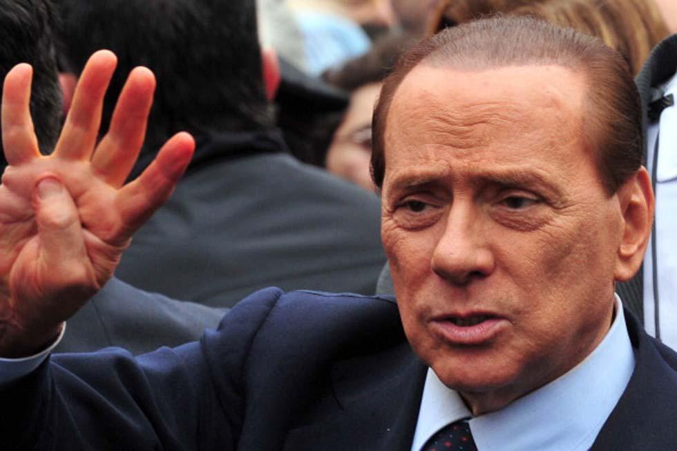 il leader di FI Silvio Berlusconi  (Photo Cacace/Afp/Getty Images)