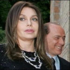 Veronica Lario con Silvio Berlusconi