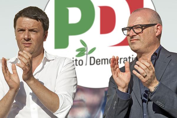 Renzi con Bonaccini