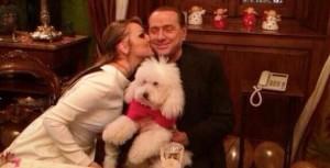 Silvio Berlusconi Francesca Pascale e Dudù