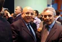 Mario Oliverio con Vincenzo Ciconte