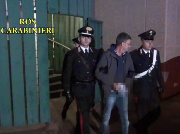 Massimo Carminati dopo il suo arresto