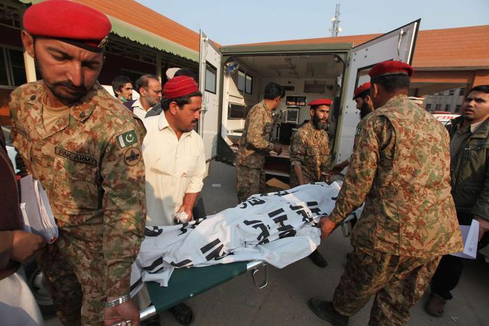 feriti pakistan
