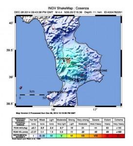 Terremoto in Sila Cosenza (2)