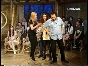 Totonno Chiappetta a Macao Rai 3 insieme ad Alba Parietti