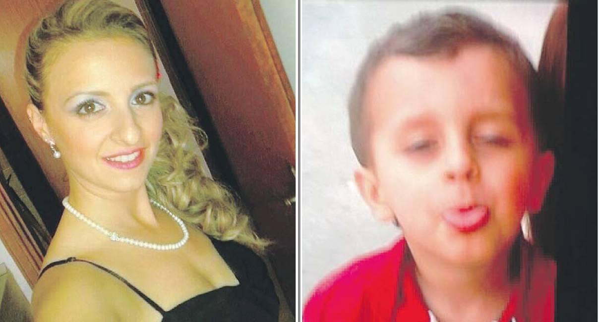 Veronica Panarello con il figlio Andrea Loris Stival