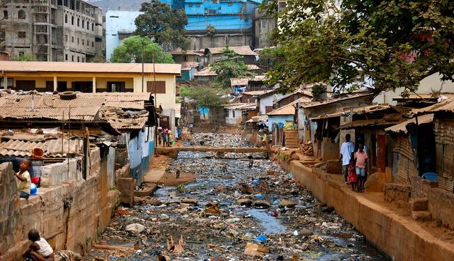 Villaggio della Sierra Leone Ebola, Australia