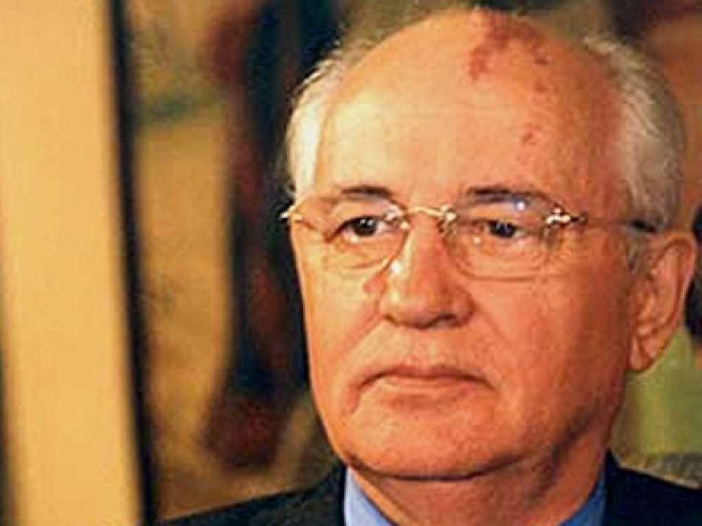 L'ex presidente sovietico Michail Gorbaciov
