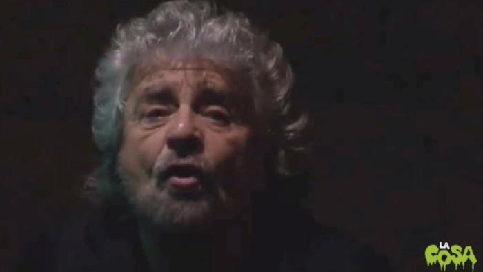 Discorso Grillo fine anno 2014