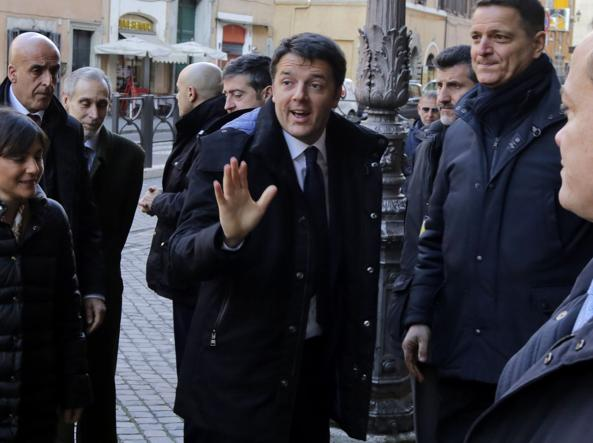 Matteo Renzi tratta per l'elezione capo Stato