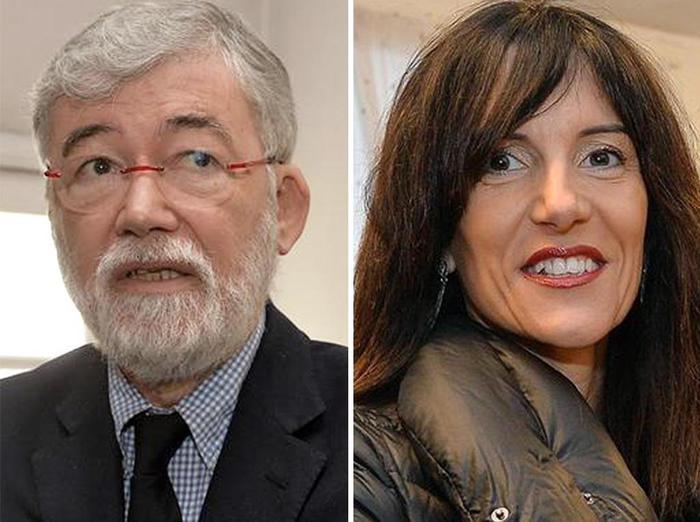 Primarie Pd Liguria Sergio Cofferati e Raffaella Paita