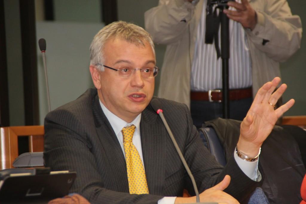 L'ex presidente del Consiglio calabrese Franco Talarico
