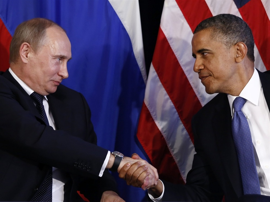 Putin e Obama. E' gelo tra le due superpotenze