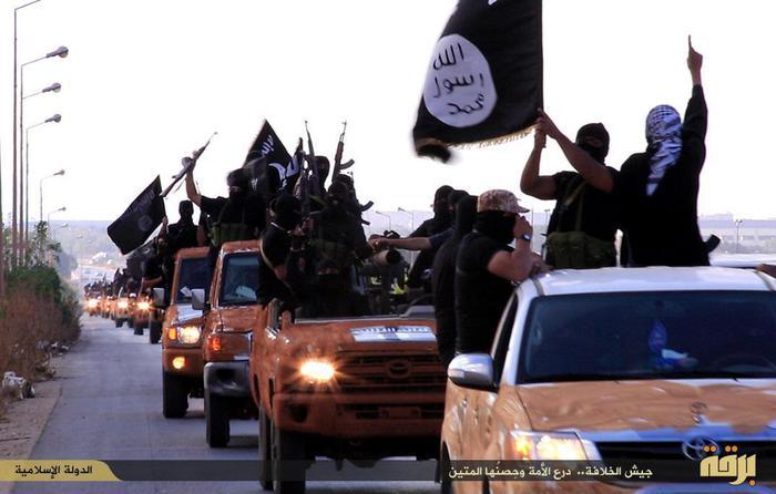 Guerriglieri dell'Isis in Cirenaica