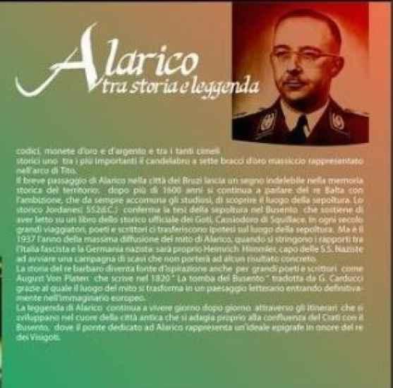 La pagina con Himmler