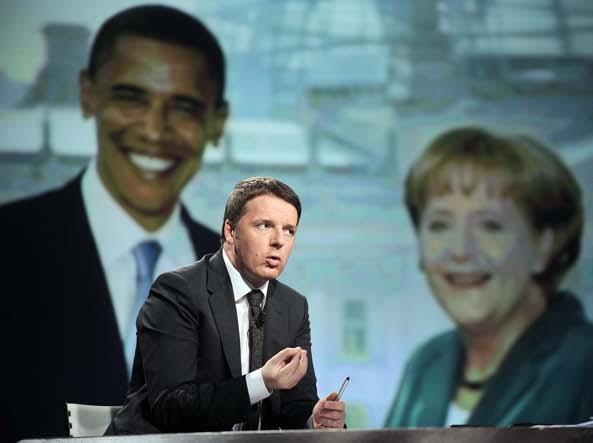 Matteo Renzi ospite da Lucia Annunziata Isis Renzi