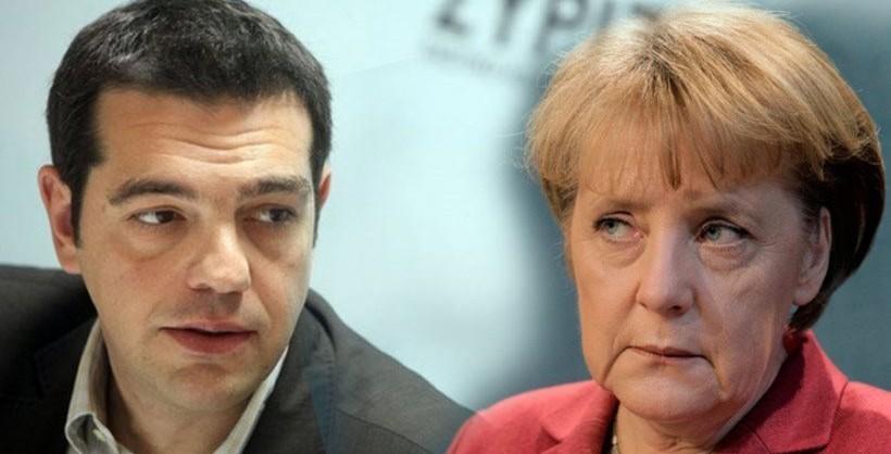 Angela Merkel e Alexis Tsipras - Schäuble inflessibile