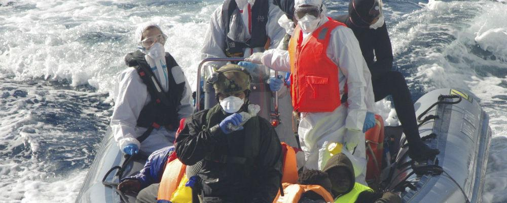 Strage di migranti nel canale di Sicilia