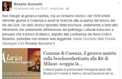 rosaria succurro su fb