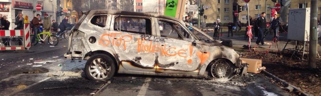 Bce, scontri a Francoforte tra Blockupy e Polizia tedesca