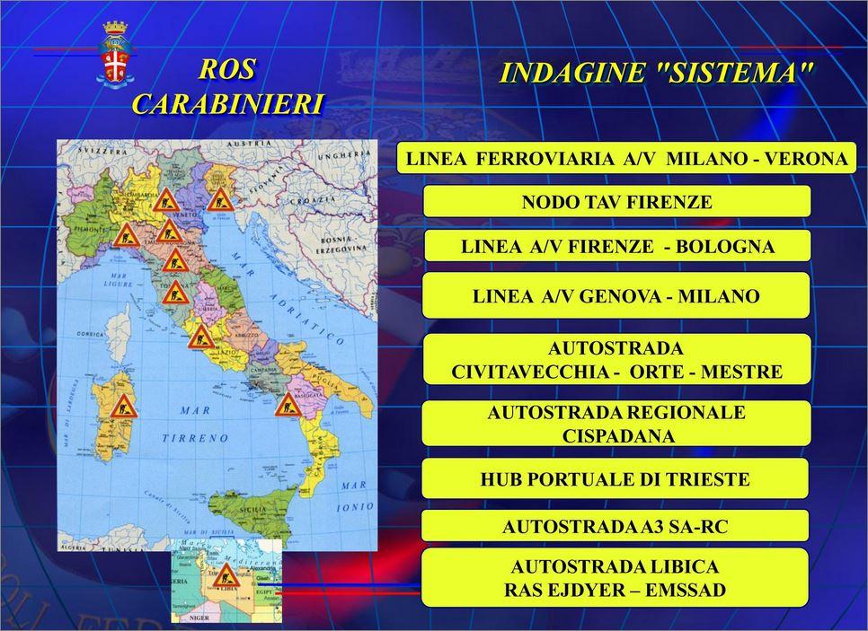 Le Grandi opere attenzionate dalla procura di Firenze