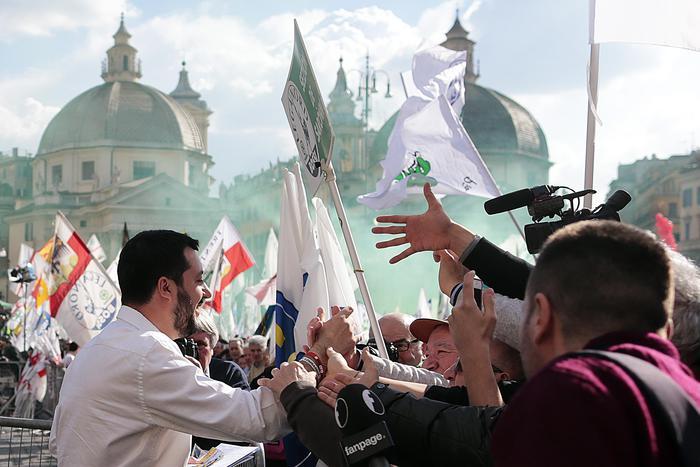 Matteo Salvini (Ansa/Antimiani)
